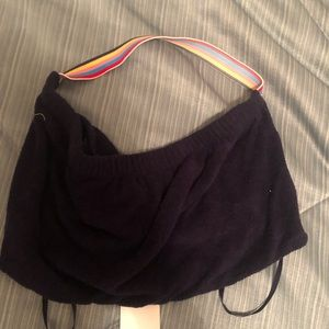 NWT UO Silence and Noise Navy Tube Halter Top